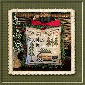 Little House Needleworks - Jack Frost's Tree Farm - Part 2 Douglas Fir_THUMBNAIL