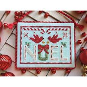 Luminous Fiber Arts - Cardinal Noel THUMBNAIL