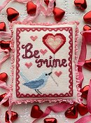 Luminous Fiber Arts - A Bluebird's Message THUMBNAIL