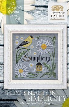 Cottage Garden Samplings - Songbird's Garden 9 -There Is Beauty In Simplicity_MAIN
