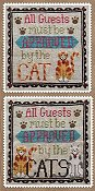 Waxing Moon Designs - Cat Owner's Welcome THUMBNAIL