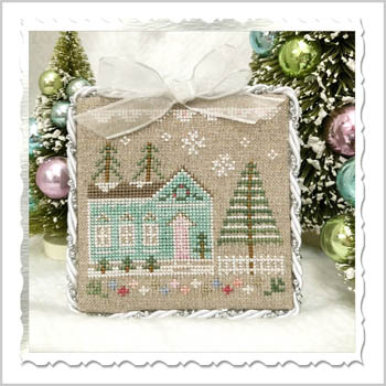 Country Cottage Needleworks - Glitter Village - Glitter House 7 MAIN