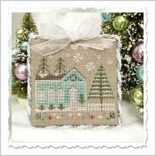 Country Cottage Needleworks - Glitter Village - Glitter House 7 THUMBNAIL