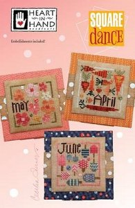 Heart In Hand Needleart - Square Dance (April-May-June) MAIN