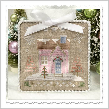 Country Cottage Needleworks - Glitter Village - Glitter House 8 MAIN
