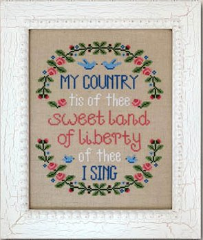 Country Cottage Needleworks - My Country_MAIN