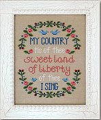 Country Cottage Needleworks - My Country THUMBNAIL