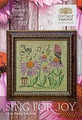 Cottage Garden Samplings - Songbird's Garden 10 - Sing For Joy THUMBNAIL
