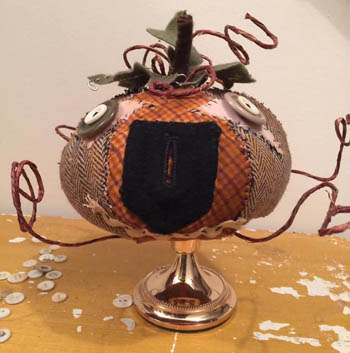 Dames of the Needle - Prim Pumpkin Make Do THUMBNAIL