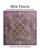Carolyn Manning Designs - The Garden Labyrinth Collection - Milk Thistle THUMBNAIL