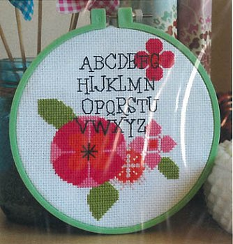 Luhu Stitches - Modern Flower Alphabet MAIN