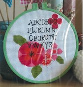 Luhu Stitches - Modern Flower Alphabet THUMBNAIL