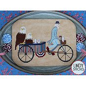 Lindy Stitches - Uncle Sam's Rickshaw THUMBNAIL