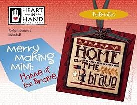 Heart In Hand Needleart - Merry Making Mini - Home Of The Brave MAIN