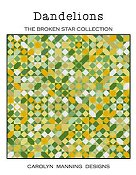 Carolyn Manning Designs - Dandelions - The Broken Star Collection THUMBNAIL