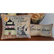 Abby Rose Designs - I Stitch Alone...At Midnight THUMBNAIL