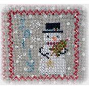 Annie Beez Folk Art - Snowy 9 Patch - Part 6 THUMBNAIL