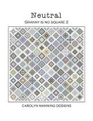 Carolyn Manning Designs - Neutral - Granny Is No Square 2 THUMBNAIL