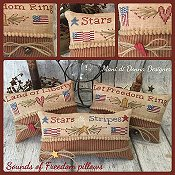 Mani Di Donna - Sounds of Freedom Pillows THUMBNAIL
