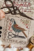 Jeannette Douglas Designs - Sew Together #3 Scissors & Threads THUMBNAIL
