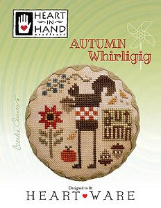 Heart In Hand Needleart - Autumn Whirligig MAIN