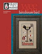 Heart In Hand Needleart - Wee One - Farmhouse Bird THUMBNAIL