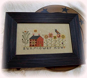 Annie Beez Folk Art - Sunflower Row MAIN