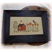 Annie Beez Folk Art - Sunflower Row THUMBNAIL
