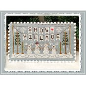 Country Cottage Needleworks - Snow Village 1 - Banner THUMBNAIL