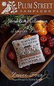 Plum Street Samplers - Serial Bowl Collection of Sampler Lessons - Lesson Four THUMBNAIL