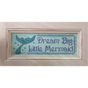 Vintage NeedleArts - Dream Big Little Mermaid THUMBNAIL