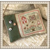 Little House Needleworks - Rooster and the Hens THUMBNAIL
