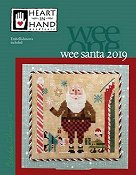 Heart In Hand Needleart - Wee One - Wee Santa 2019 THUMBNAIL
