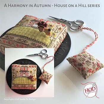 Hands On Design - House on a Hill - Harmony In Autumn MAIN