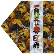 The Stitchworks - Seasonal Table Runners - Halloween THUMBNAIL