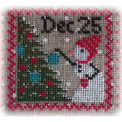 Annie Beez Folk Art - Snowy 9 Patch - Part 8 THUMBNAIL