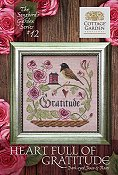 Cottage Garden Samplings - Songbird's Garden 12 - Heart Full Of Gratitude THUMBNAIL