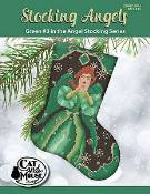 Cat And Mouse Designs - Stocking Angels - Green #3 THUMBNAIL