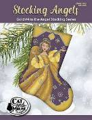 Cat And Mouse Designs - Stocking Angels - Gold #4 THUMBNAIL