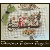 Nikyscreations - Christmas Scissors Sampler THUMBNAIL