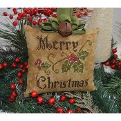 Abby Rose Designs - Primitive Merry Christmas Pillow THUMBNAIL