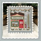 Country Cottage Needleworks - Snow Village 2 - Skate and Sled Shop THUMBNAIL