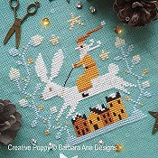 Barbara Ana Designs - Christmas Hare THUMBNAIL