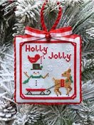 Luminous Fiber Arts - Holly Jolly THUMBNAIL