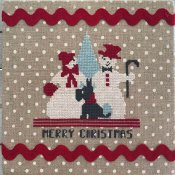 Luhu Stitches - Merry Snowpeople THUMBNAIL