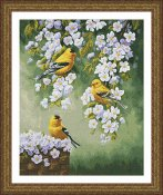 Kustom Krafts - Goldfinch Blossoms THUMBNAIL