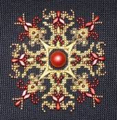 Northern Expressions Needlework - Sparkler #2 Lava Red THUMBNAIL