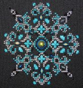 Northern Expressions Needlework - Sparkler #4 Jet AB THUMBNAIL