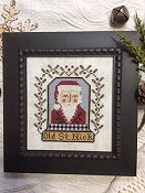 Annie Beez Folk Art - Old St. Nick THUMBNAIL