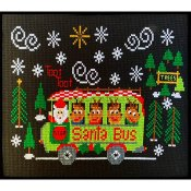 Pickle Barrel Designs - Santa Bus THUMBNAIL